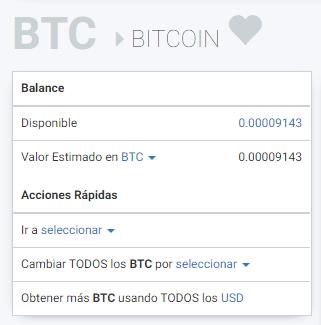Ya tenemos bitcoins en nuestro monedero